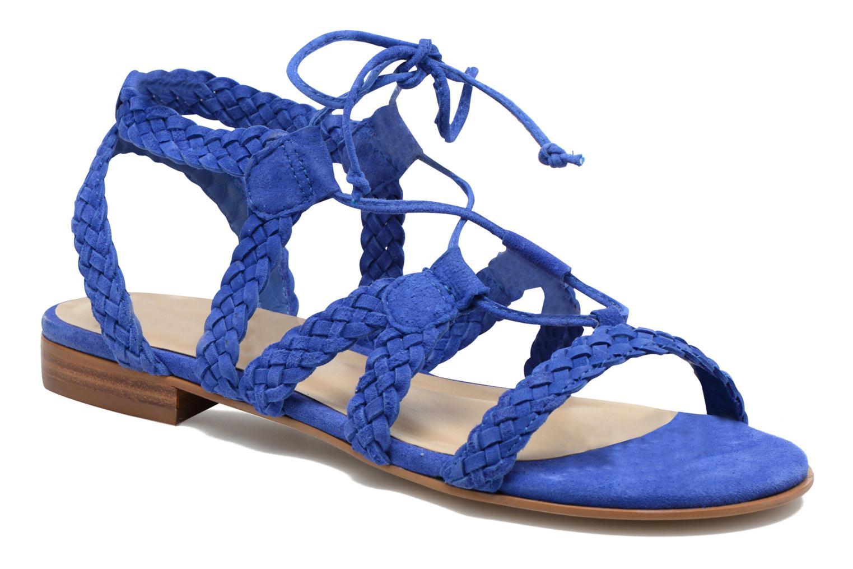 Sandalen San Marina Vesma/Nub Blauw detail