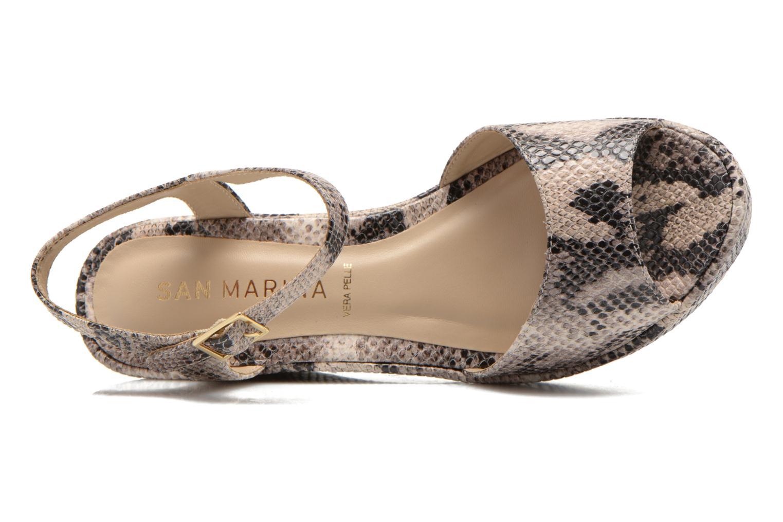 Sandales et nu-pieds San Marina Vegria/Serp Multicolore vue gauche