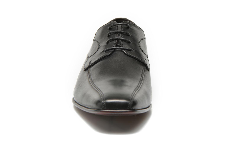 Zapatos con cordones San Marina Acero Negro vista del modelo