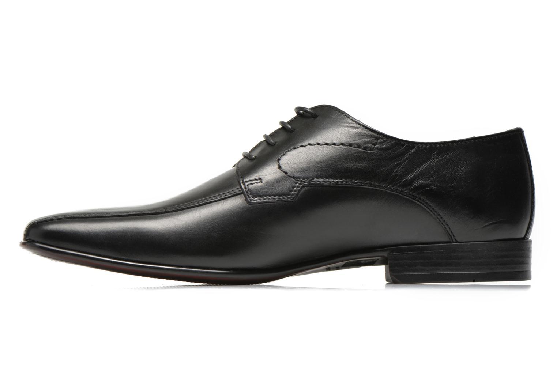 Zapatos con cordones San Marina Acero Negro vista de frente