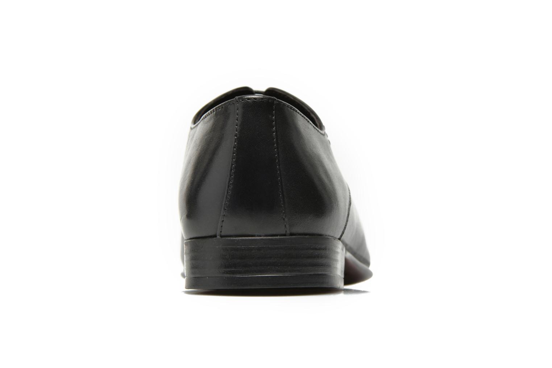 Zapatos con cordones San Marina Acero Negro vista lateral derecha