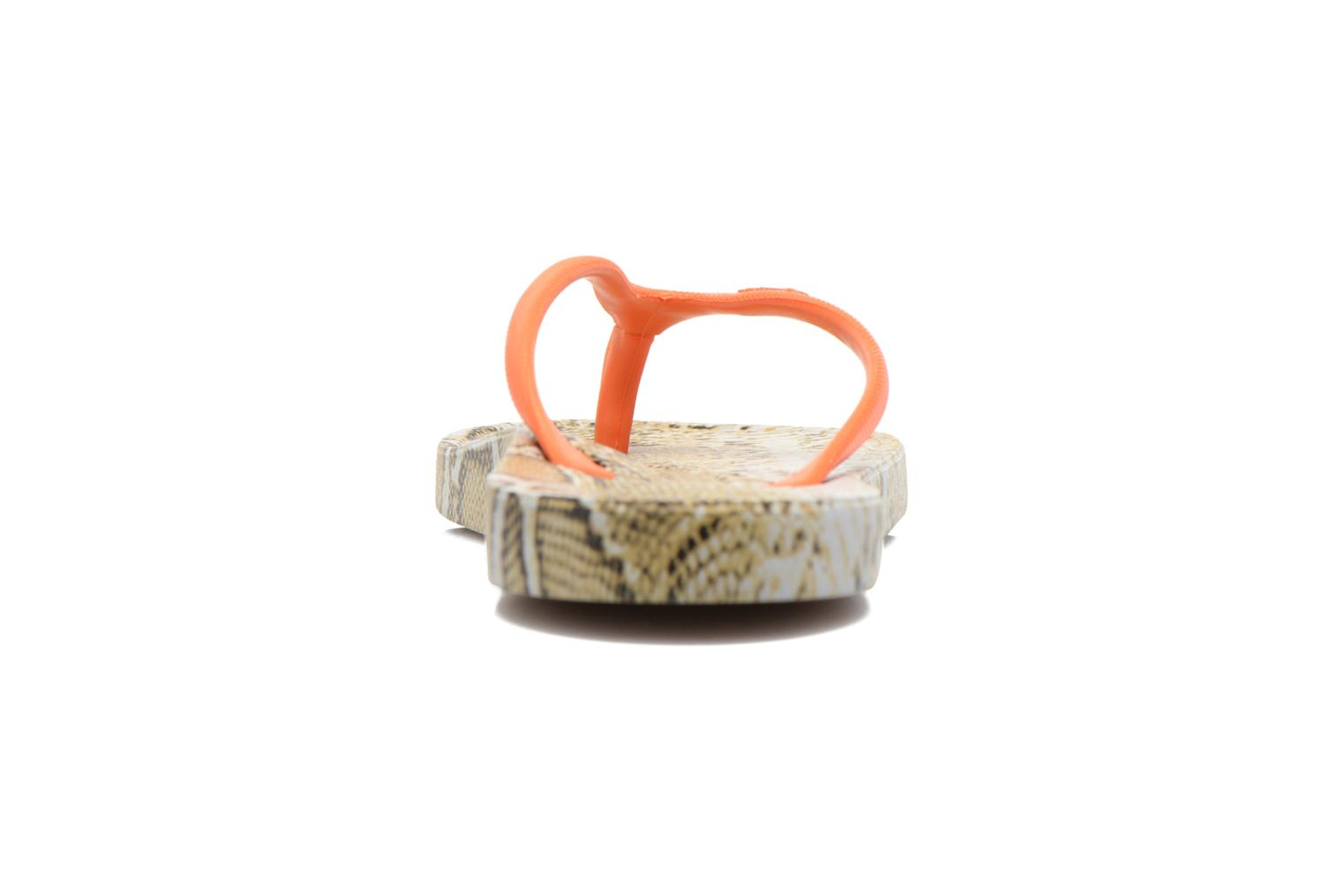 Flip flops Ozify Print W Orange view from the right