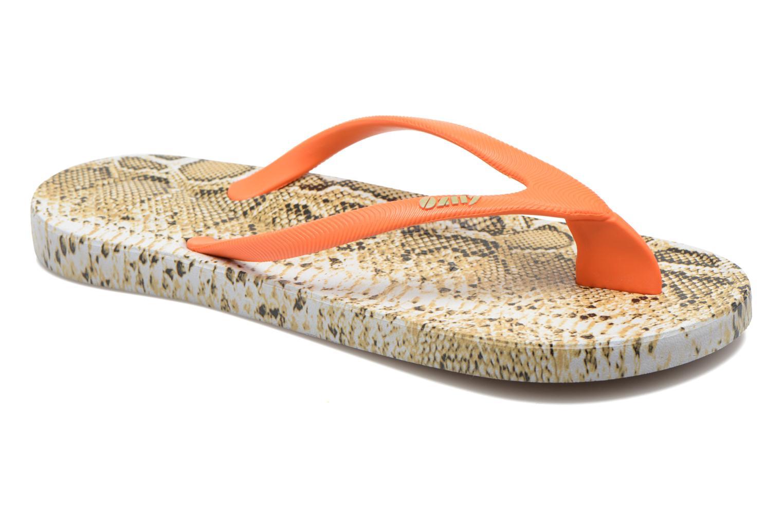 Flip flops Ozify Print W Orange detailed view/ Pair view