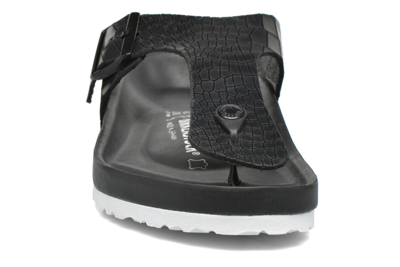 Flip flops Birkenstock Ramses Cuir M Black model view