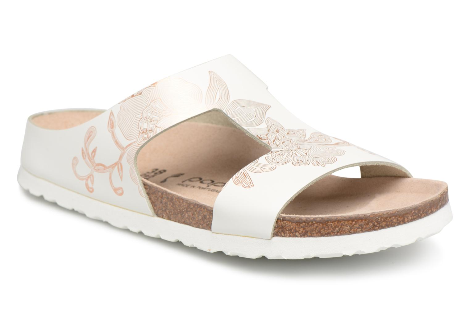 Marques Chaussure femme Papillio femme Charlize Cuir W Ornament White / Rosegold
