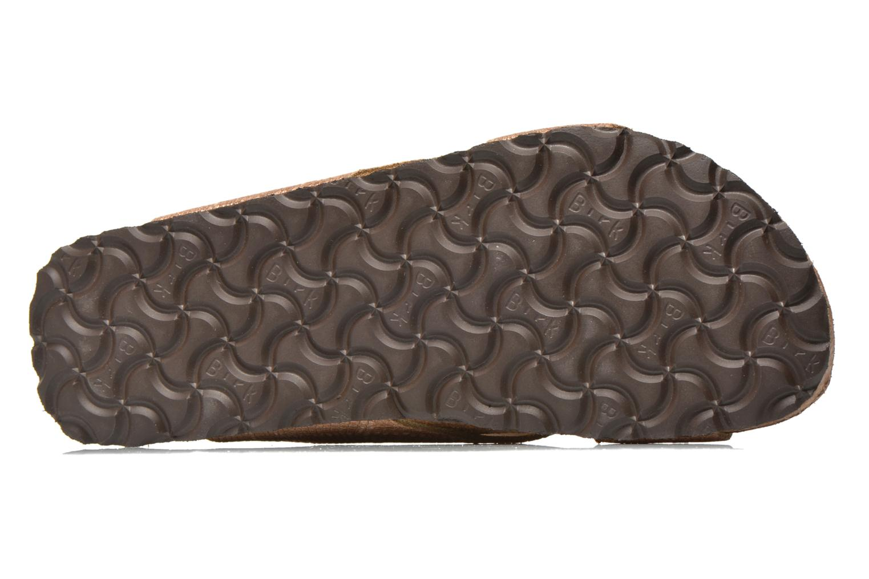 Clogs & Pantoletten Papillio Daytona Cuir Nubuck W braun ansicht von oben