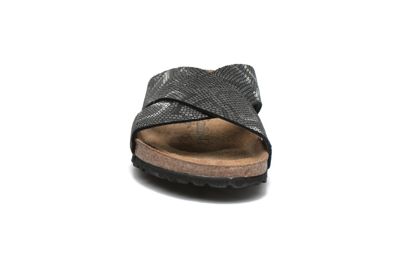 Mules et sabots Papillio Daytona Cuir Nubuck W Noir vue portées chaussures