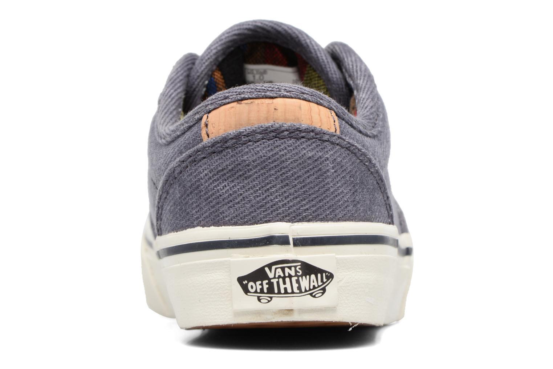 Baskets Vans Atwood Deluxe Bleu vue droite