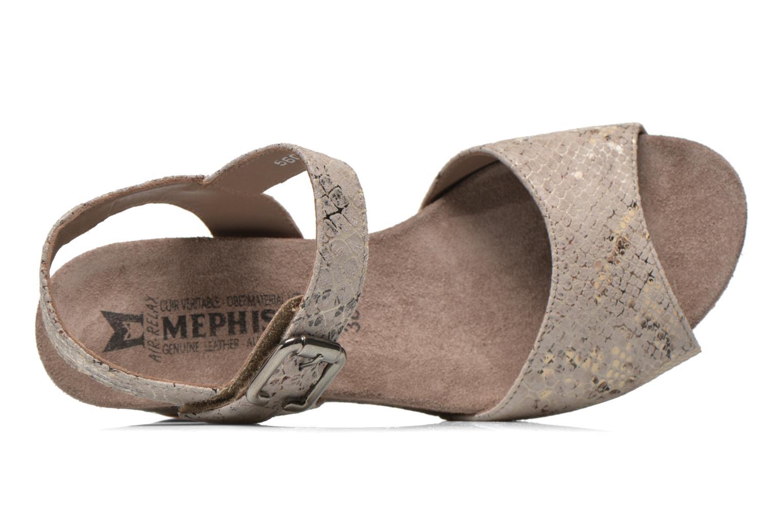 Sandales et nu-pieds Mephisto BEAUTY Gris vue gauche