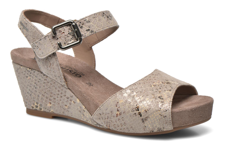 Sandales et nu-pieds Mephisto BEAUTY Gris vue détail/paire
