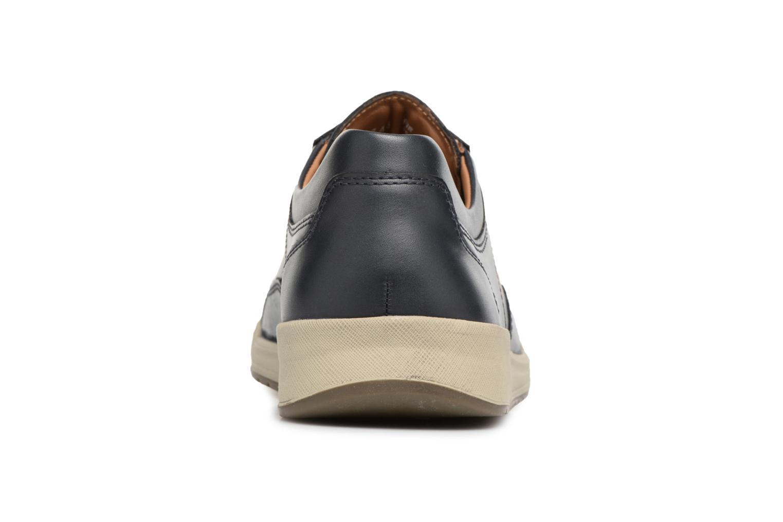 Sneakers Mephisto Rodrigo Blauw rechts