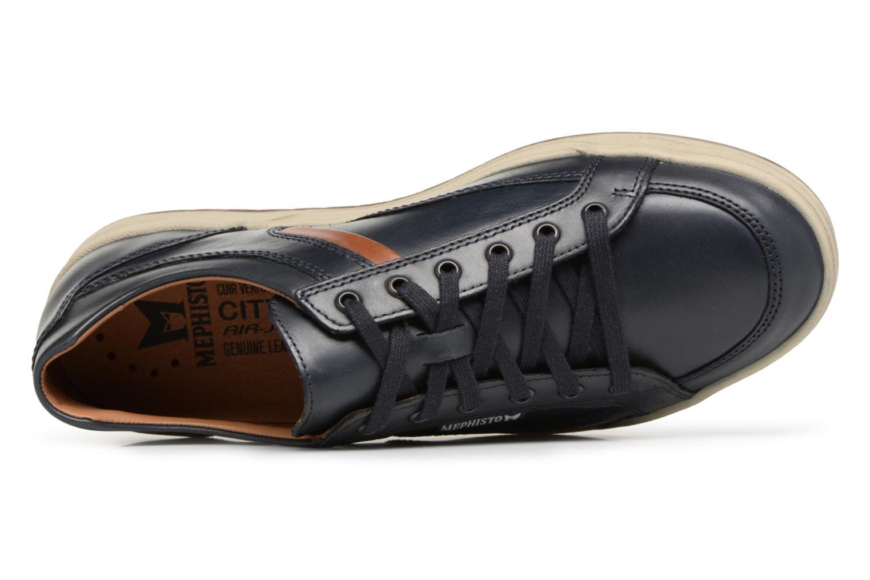 Sneakers Mephisto Rodrigo Blauw links