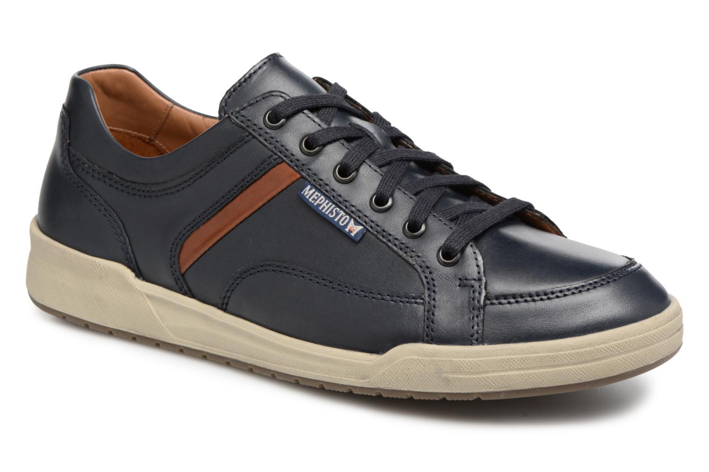 Sneakers Mephisto Rodrigo Blauw detail