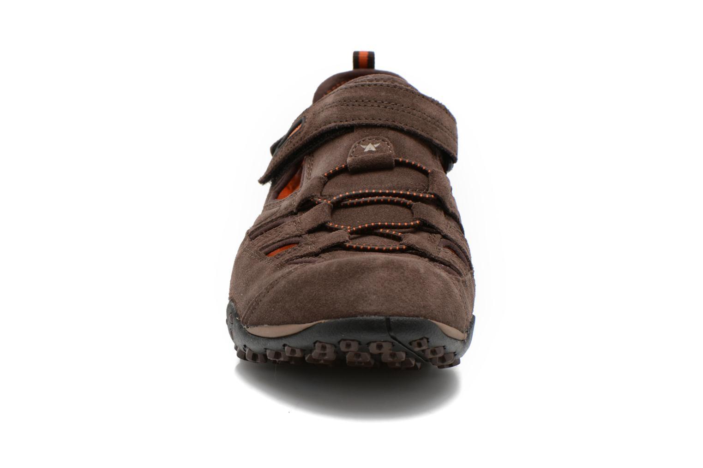 Chaussures de sport Allrounder by Mephisto tarantino Marron vue portées chaussures