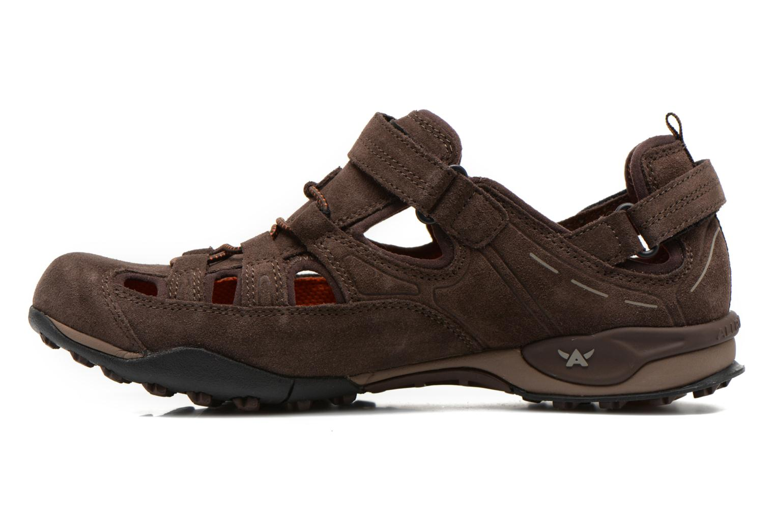 Chaussures de sport Allrounder by Mephisto tarantino Marron vue face