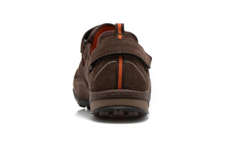 Chaussures de sport Allrounder by Mephisto tarantino Marron vue droite