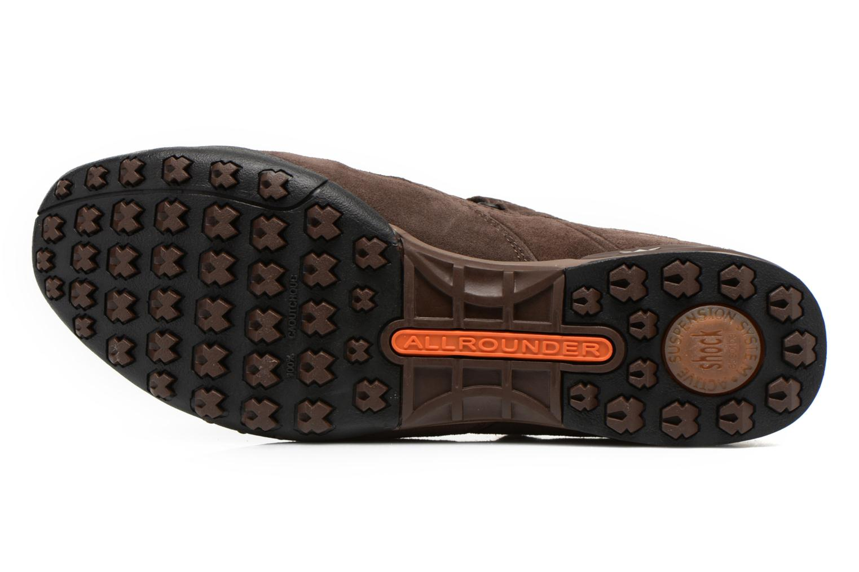 Chaussures de sport Allrounder by Mephisto tarantino Marron vue haut
