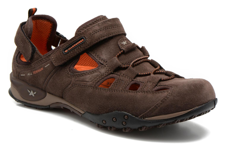 Chaussures de sport Allrounder by Mephisto tarantino Marron vue détail/paire