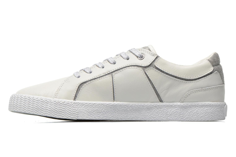 Sneakers Geox J Smart Girl J52F4A Wit voorkant