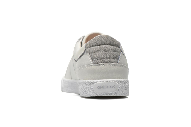 Sneakers Geox J Smart Girl J52F4A Wit rechts