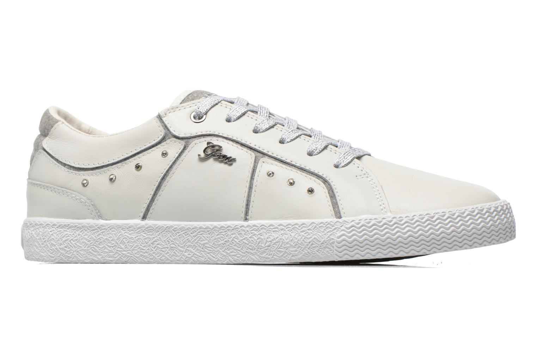 Sneakers Geox J Smart Girl J52F4A Wit achterkant