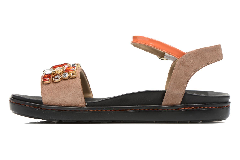 Sandales et nu-pieds Geox D Tajah D5239B Marron vue face