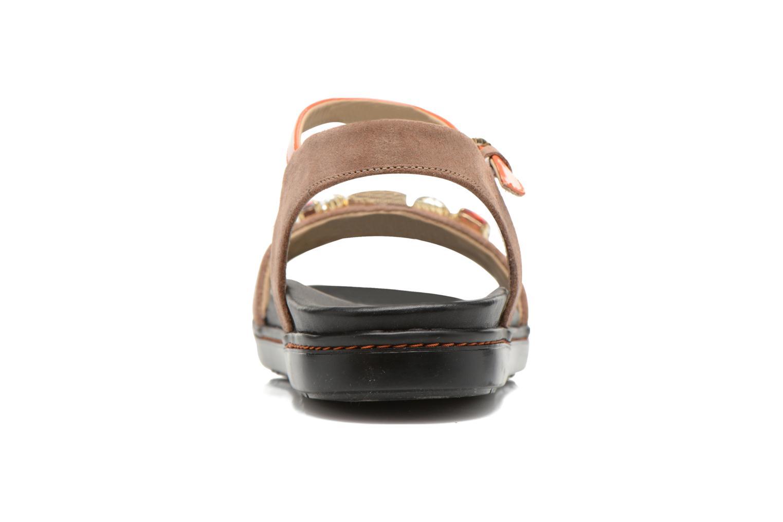 Sandales et nu-pieds Geox D Tajah D5239B Marron vue droite