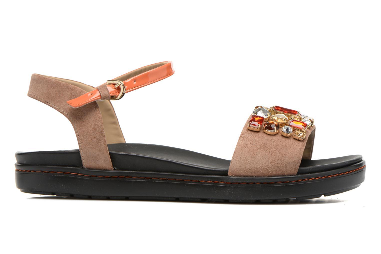 Sandales et nu-pieds Geox D Tajah D5239B Marron vue derrière