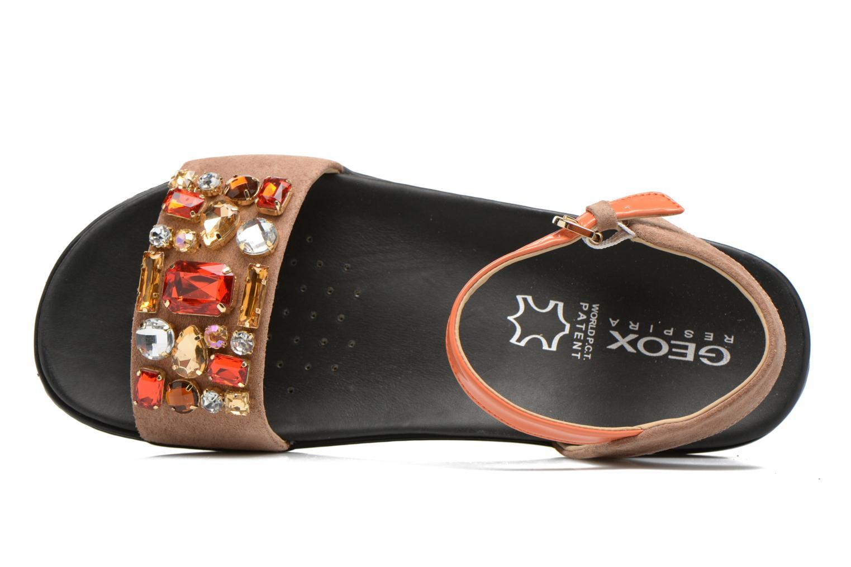 Sandales et nu-pieds Geox D Tajah D5239B Marron vue gauche