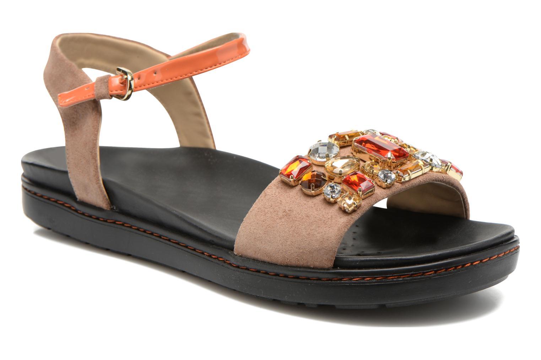 Sandales et nu-pieds Geox D Tajah D5239B Marron vue détail/paire