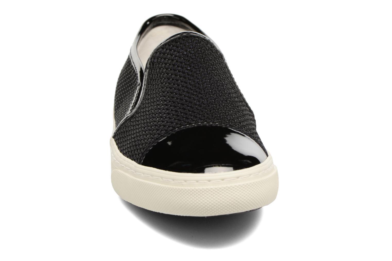 Sneaker Geox D NEW CLUB G D5258G schwarz schuhe getragen