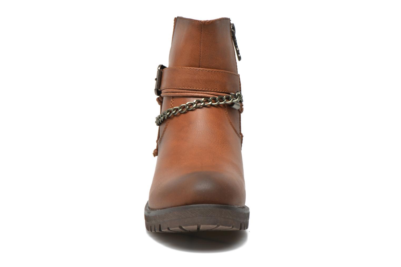 Bottines et boots Refresh Louna-61620 Marron vue portées chaussures