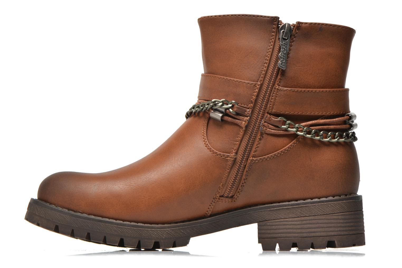 Bottines et boots Refresh Louna-61620 Marron vue face