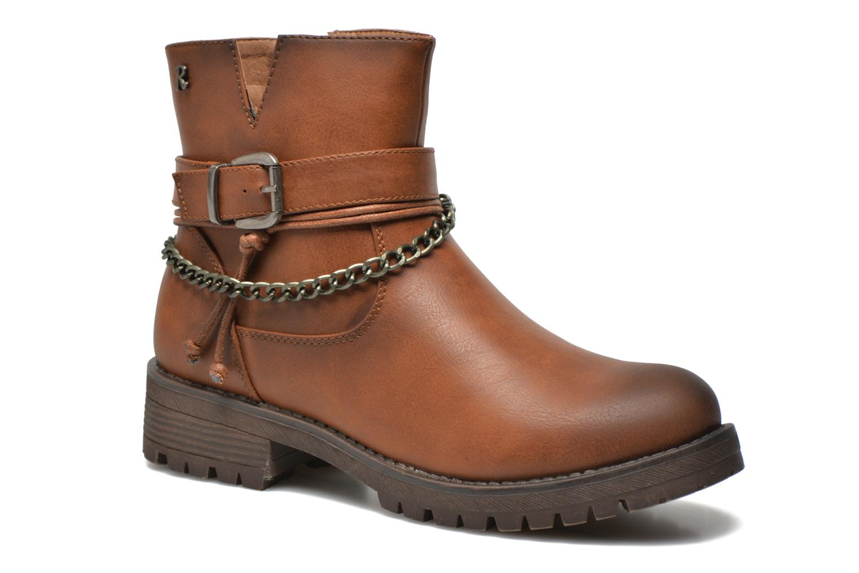 Bottines et boots Refresh Louna-61620 Marron vue détail/paire