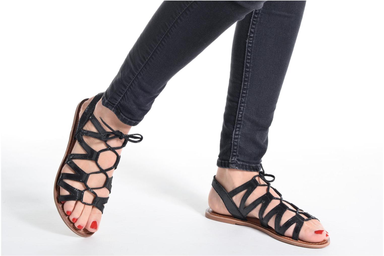 Sandalen I Love Shoes SUGLI Leather silber ansicht von unten / tasche getragen