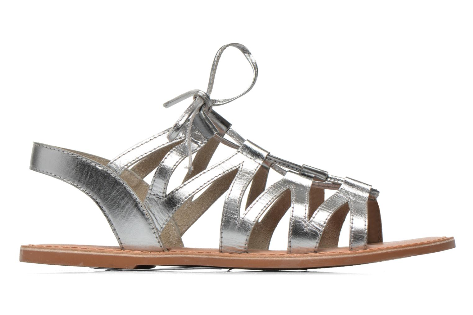 Sandals I Love Shoes SUGLI Leather Silver back view