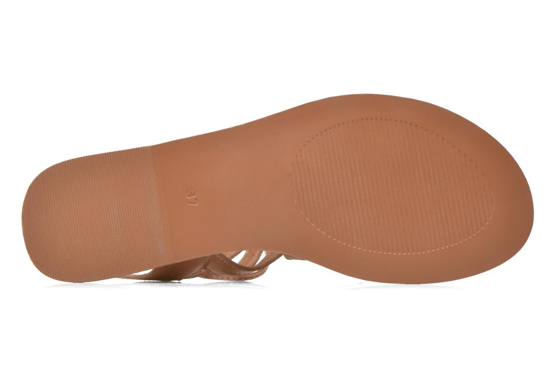 Sandales et nu-pieds I Love Shoes SUGLI Leather Argent vue haut