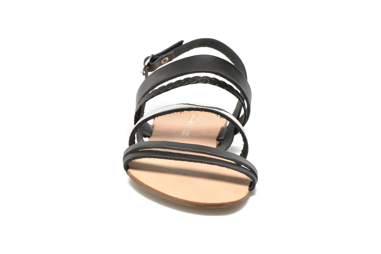 Sandalen Georgia Rose Doloress schwarz schuhe getragen