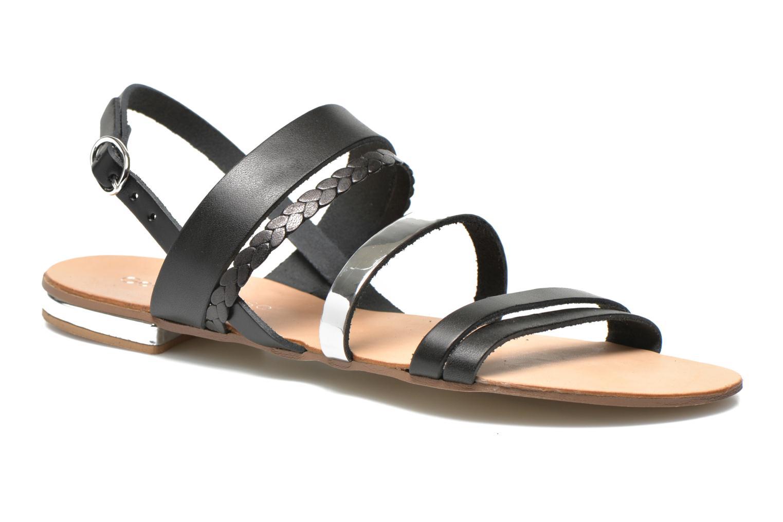 Sandalen Georgia Rose Doloress schwarz detaillierte ansicht/modell