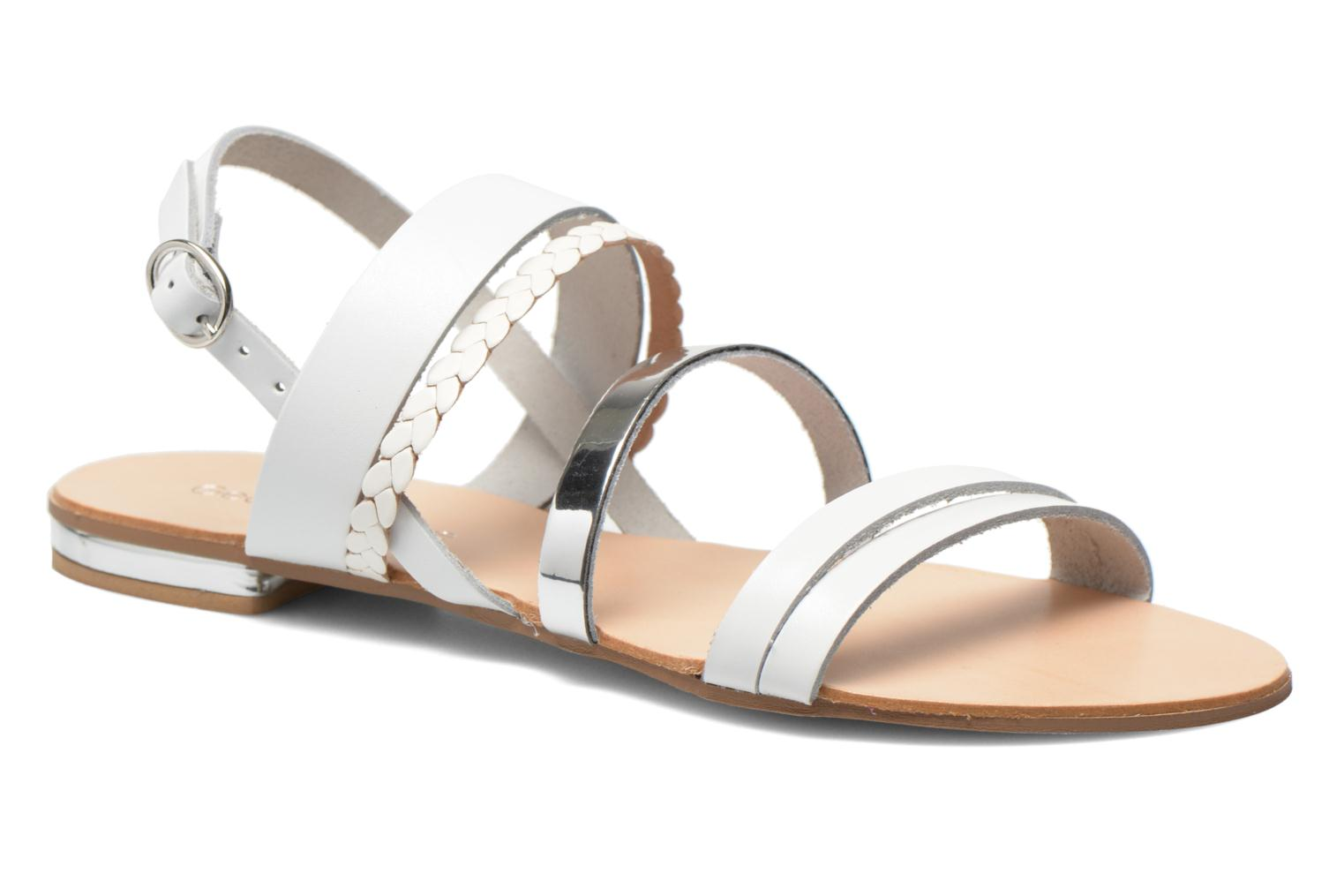 Doloress Pelle bianco + argento