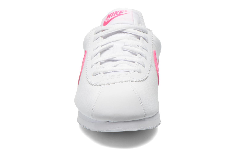 Sneaker Nike Nike Cortez (Gs) weiß schuhe getragen