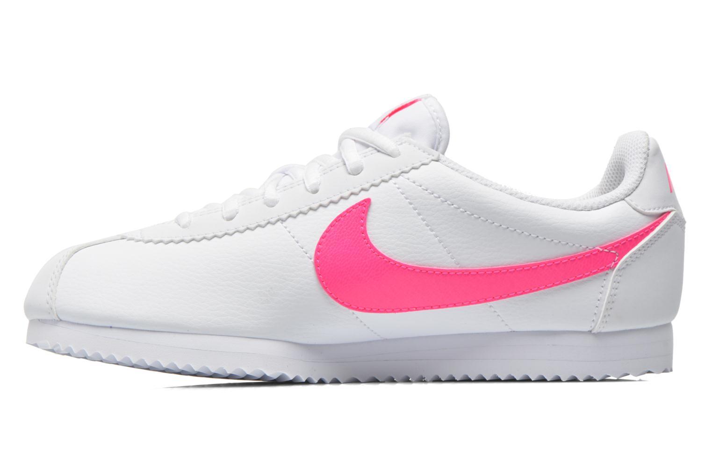 Sneaker Nike Nike Cortez (Gs) weiß ansicht von vorne