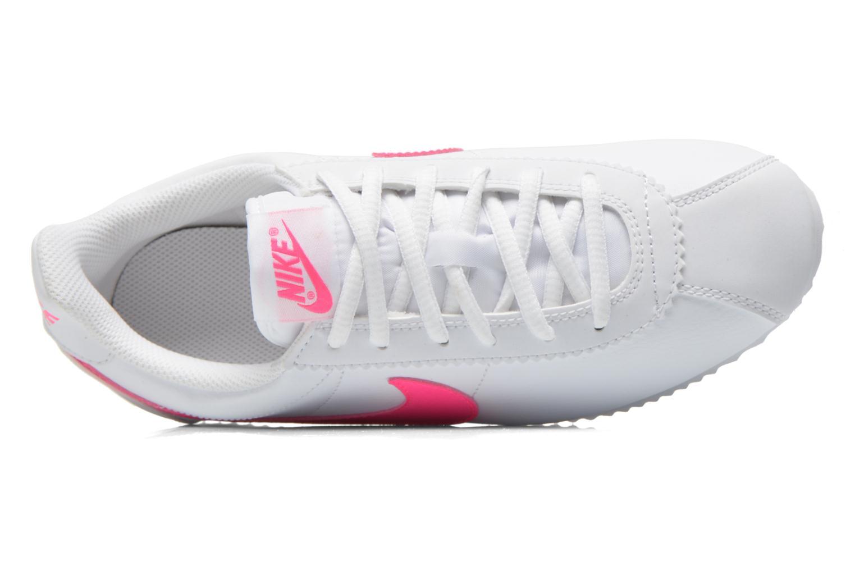 Sneaker Nike Nike Cortez (Gs) weiß ansicht von links