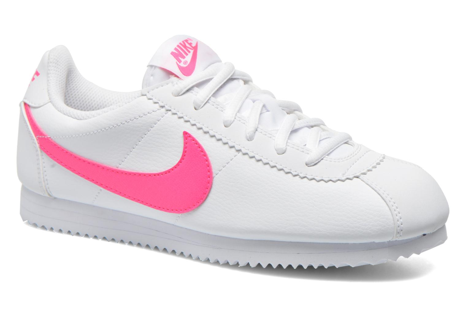 Trainers Nike Nike Cortez (Gs) White detailed view/ Pair view