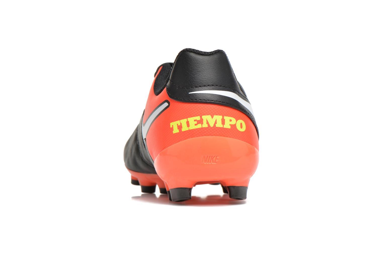 Chaussures de sport Nike Jr Tiempo Legend Vi Fg Noir vue droite