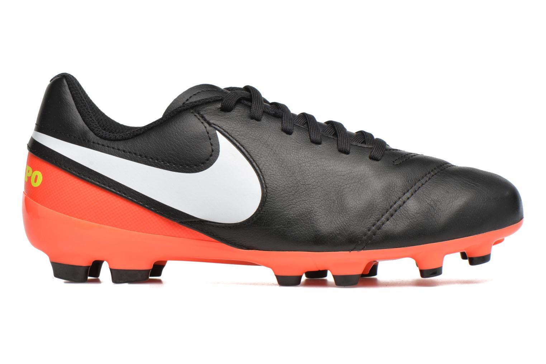 Chaussures de sport Nike Jr Tiempo Legend Vi Fg Noir vue derrière