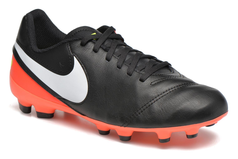 Chaussures de sport Nike Jr Tiempo Legend Vi Fg Noir vue détail/paire