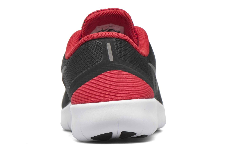 Deportivas Nike Nike Free Rn (Gs) Negro vista lateral derecha