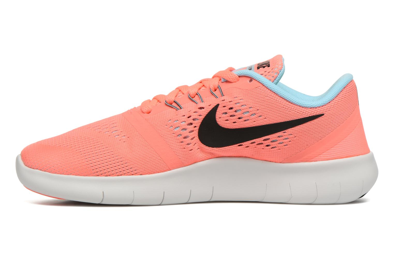 Baskets Nike Nike Free Rn (Gs) Rose vue face