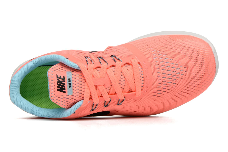 Baskets Nike Nike Free Rn (Gs) Rose vue gauche